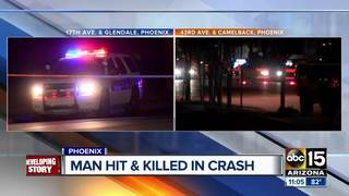 2 pedestrians killed in west Phoenix accidents