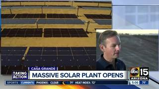 New solar plant to provide power for SRP users