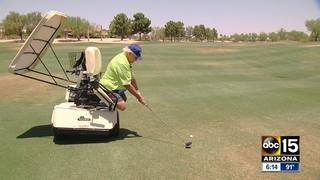 Valley double amputee gets hole-in-one golfing
