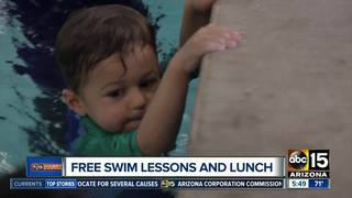 Free food and swimming in the west Valley