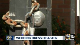 Bridal shop steps in to help after store closure