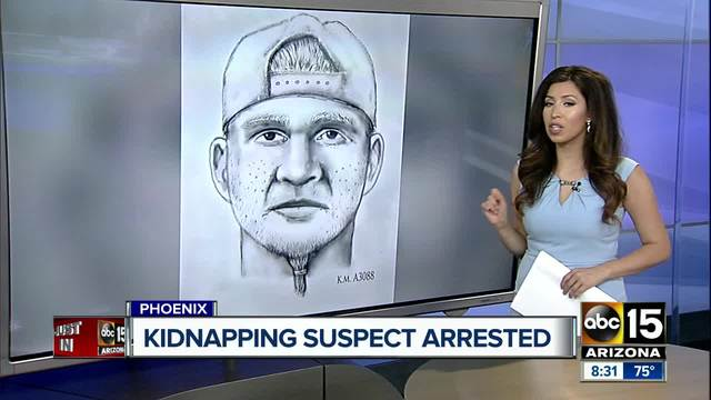Kidnapping suspect arrested early Saturday