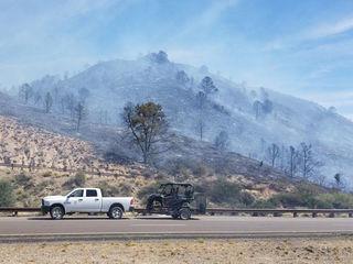 Crews battling Potatoe Fire near Sunflower