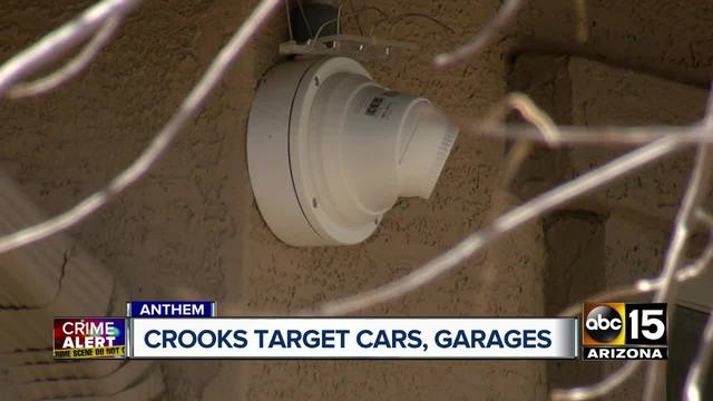 Thieves targeting cars in Anthem community