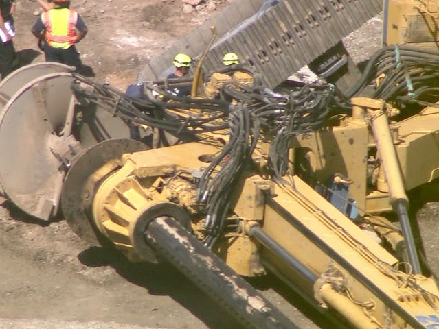 Person unaccounted for after crane falls in PHX
