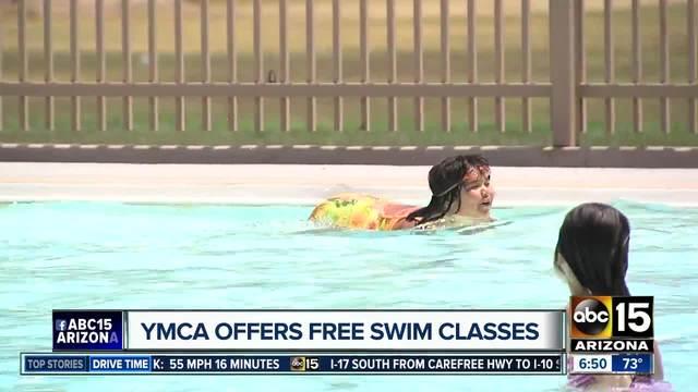 YMCA offering free swim classes