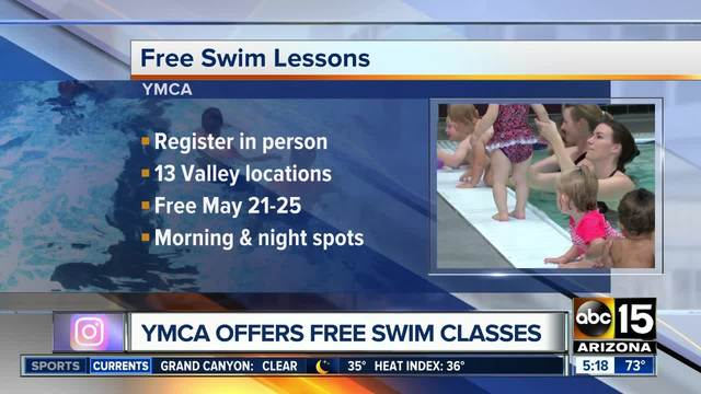 YMCA offering free swim lessons