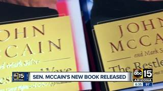 McCain's new book reflects on presidential bid