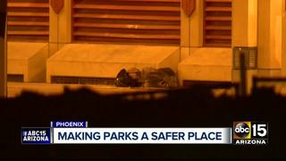 Downtown PHX park upgrade could focus on safety