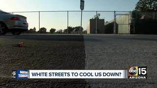 Could white streets make the Valley cooler?
