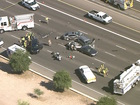 Several cars involved in crash on US-60 in Mesa