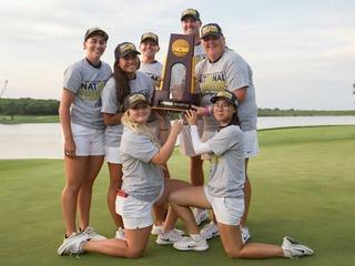 Women's golf gives UA its 19th NCAA team title