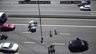 DPS: Driver in custody after Phoenix pursuit
