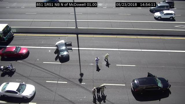 DPS: Driver in custody after Phoenix pursuit