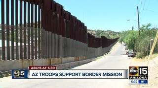 AZ National Guard speaks out from the border