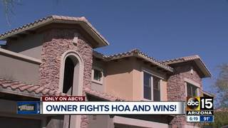LJK: Man takes on his HOA and wins!