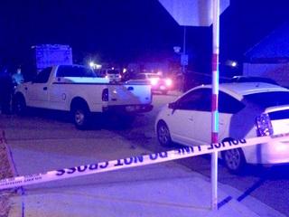 Man hurt, woman in custody after police shooting