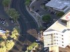 Man shot during fight outside St. Joe's Hospital
