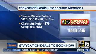 Best staycation deals right now!