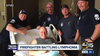 GoFundMe set up for SFMD firefighter with cancer