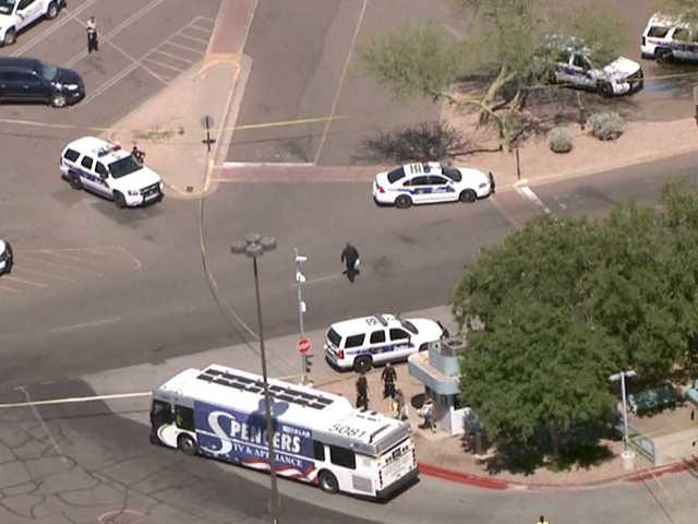 Image result for Suspect killed in shooting with police near Metrocenter Mall in Phoenix