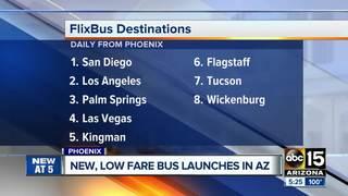 FlixBus: Score cheap bus travel around AZ, California