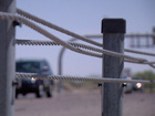 Casa Grande Mayor supports cable barriers on I10