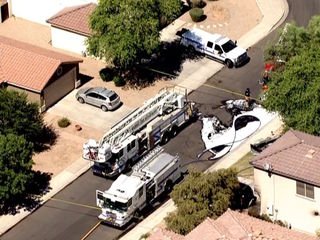 PD: Man found dead after fire sparks in Gilbert