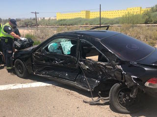 MCSO: 5 hurt in crash at Goodyear intersection