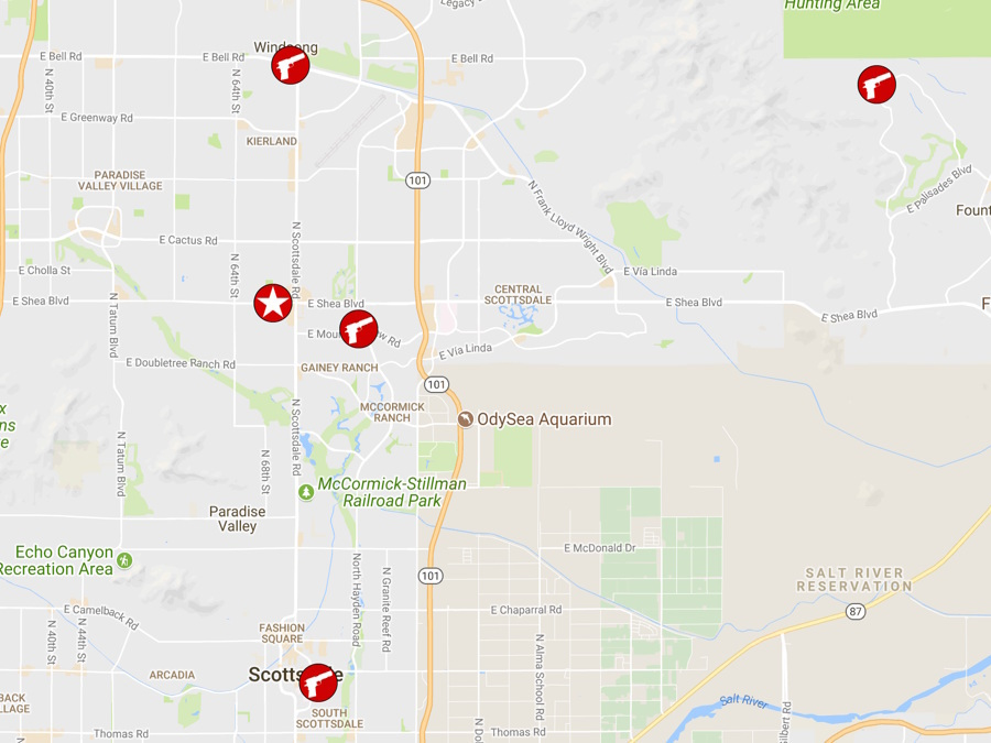 Arizona murders: When, where each Scottsdale homicide took place ...