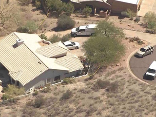 Home linked to Valley murder spree burglarized