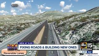 ADOT hopes to widen parts of I-17 north of PHX