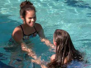 Teen starts non-profit to help kids swim