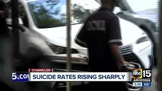 CDC: Suicide rates up 30% since 1999