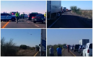 DPS: Deadly wrong-way crash near Casa Grande