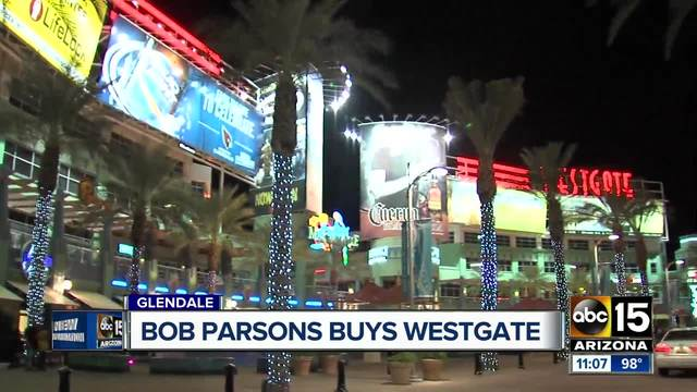 GoDaddy founder, Bob Parsons, just bought Westgate Entertainment District for $133 million