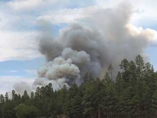 176-acre wildfire burning near Clints Well
