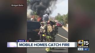 MCSO investigating possible arson in Mesa fire