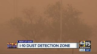 ADOT expanding part of I-10 for dust detection