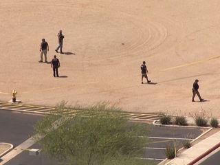 Shot fired near Gilbert hospital, man in custody