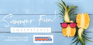 RULES: Emergency Air Summer Fun Sweepstakes