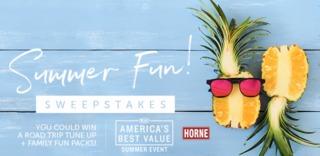 RULES: Horne Kia Summer Fun Sweepstakes