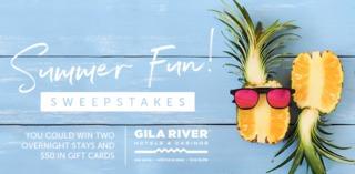 RULES: Gila River Summer Fun Sweepstakes
