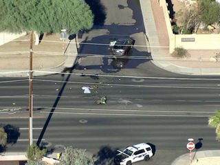 PD: Motorcyclist killed in north Phoenix crash