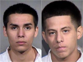 PD: 2 men arrested after 10 Phoenix robberies
