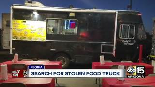 Peoria family's food truck stolen over weekend
