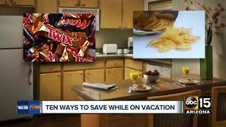 10 ways to save while on vacation