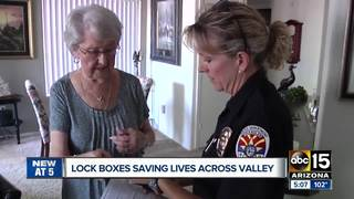 How a lockbox can help Valley first responders
