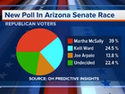 New poll shows McSally in the lead for Senate