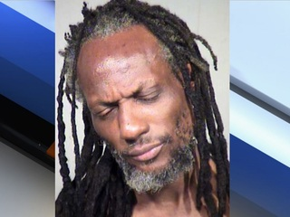 PD: Man arrested for beating ex-wife with bat